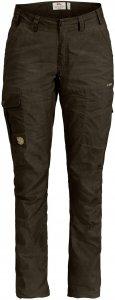 Fjällräven Karla Pro Trousers Curved Frauen Gr. 34 - Trekkinghose - oliv-dunkelgrün