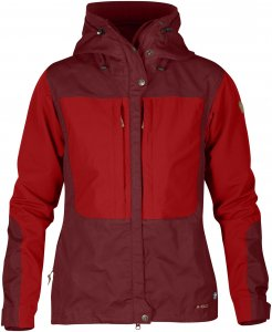 Fjällräven Keb Jacket W. Frauen Gr. S - Übergangsjacke - rotbraun|rot