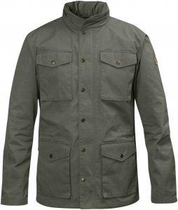Fjällräven Räven Jacket Männer Gr. S - Übergangsjacke - oliv-dunkelgrün|grau