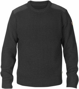 Fjällräven Singi Knit Sweater Männer Gr. XXL - Wollpullover - schwarz