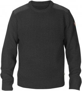 Fjällräven Singi Knit Sweater Männer Gr. XL - Wollpullover - schwarz