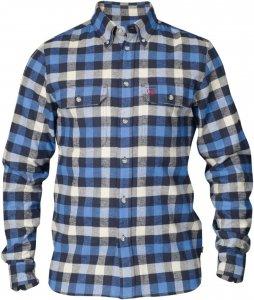 Fjällräven Skog Shirt Männer Gr. XXL - Outdoor Hemd - blau|grau