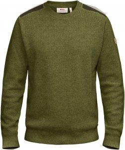 Fjällräven Sörmland Crew Sweater Männer Gr. XXXL - Wollpullover - oliv-dunkelgrün