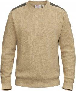 Fjällräven Sörmland Crew Sweater Männer Gr. XXL - Wollpullover - beige-sand