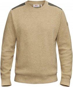 Fjällräven Sörmland Crew Sweater Männer Gr. XXXL - Wollpullover - beige-sand