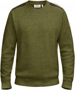 Fjällräven Sörmland Crew Sweater Männer Gr. XXL - Wollpullover - oliv-dunkelgrün