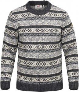 Fjällräven Övik Folk Knit Sweater Männer Gr. XL - Wollpullover - grau