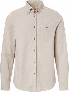 Fjällräven Övik Foxford Shirt LS Männer Gr. S - Outdoor Hemd - grau