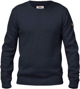 Fjällräven Övik Knit Crew Männer Gr. XXL - Sweatshirt - blau