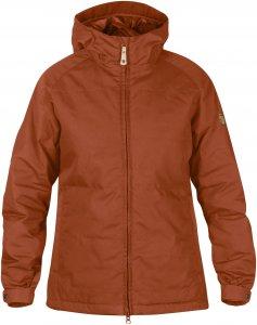 Fjällräven Övik Padded Jacket Frauen Gr. XS - Winterjacke - braun orange