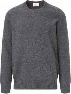 Fjällräven Övik Re-Wool Sweater Männer Gr. XL - Wollpullover - grau