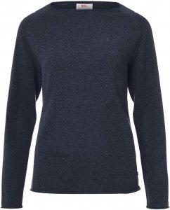 Fjällräven Övik Sweater Frauen Gr. M - Sweatshirt - blau