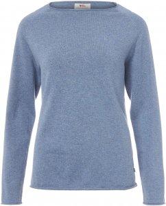 Fjällräven Övik Sweater Frauen Gr. L - Sweatshirt - blau