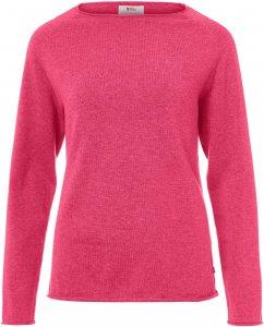 Fjällräven Övik Sweater Frauen Gr. L - Sweatshirt - lila