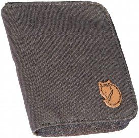 Fjällräven Zip Wallet - Portemonnaie / Geldbörse - schwarz|grau / dark grey