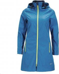 FRILUFTS Alkmaar Hooded Coat Frauen Gr. 34 - Softshelljacke - blau