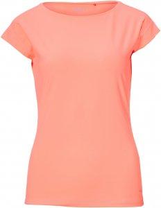 FRILUFTS Alum T-Shirt Frauen Gr. XL - Funktionsshirt - orange pink-rosa