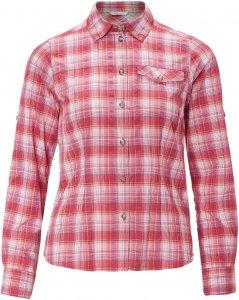 FRILUFTS Azua L/S Shirt Frauen Gr. 44 - Outdoor Bluse - pink-rosa