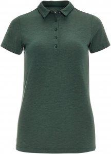 FRILUFTS Brea Polo Shirt Frauen Gr. S - Funktionsshirt - oliv-dunkelgrün