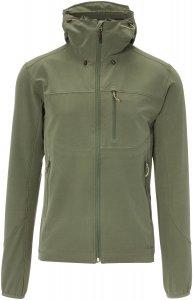 FRILUFTS Ennskraxn Hooded Softshell Jacket Männer Gr. XL - Softshelljacke - oliv-dunkelgrün