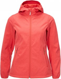 FRILUFTS Gardby Hooded Softshell Jacket Frauen Gr. 36 - Softshelljacke - rot