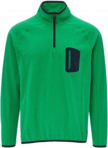 FRILUFTS Gorbea Fleece L/S Zip Shirt Männer Gr. S - Fleecepullover - grün