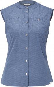 FRILUFTS Kea SL Shirt Frauen Gr. 44 - Outdoor Bluse - blau