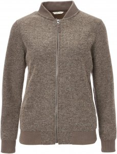FRILUFTS Liminka Fleece Jacket Frauen Gr. 40 - Fleecejacke - braun|beige-sand
