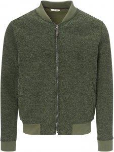 FRILUFTS Liminka Fleece Jacket Männer Gr. M - Fleecejacke - oliv-dunkelgrün