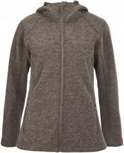 FRILUFTS Liminka Hooded Jacket Frauen Gr. 44 - Fleecejacke - braun