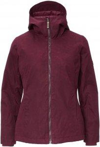 FRILUFTS Pucon Jacket Frauen Gr. 42 - Übergangsjacke - rotbraun|lila