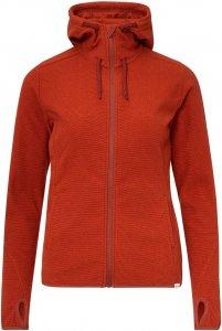 FRILUFTS Stierva Hooded Fleece Jacket Frauen Gr. 38 - Fleecejacke - rotbraun
