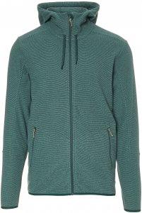 FRILUFTS Stierva Hooded Fleece Jacket Männer Gr. XXL - Fleecejacke - grün|petrol-türkis