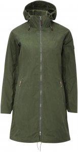 FRILUFTS Ullahau Coat Frauen Gr. 46 - Übergangsjacke - oliv-dunkelgrün