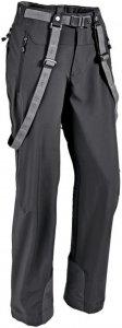 Haglöfs Rando Flex Pant Frauen Gr. 44 - Softshellhose - schwarz|grau