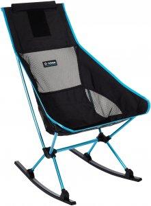 Helinox Chair Two Rocker - Campingstuhl - schwarz blau - Faltstuhl