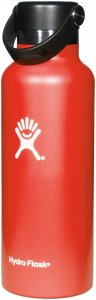 Hydro Flask 18 oz Standard Mouth - Trinkflasche - rot