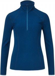 Icebreaker Descender LS Half Zip Frauen Gr. L - Funktionsshirt - blau