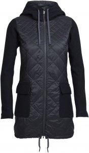 Icebreaker Departure Jacket Frauen Gr. S - Übergangsjacke - schwarz