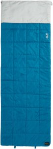 Jack Wolfskin 4-In-1 Blanket +5 Unisex - Deckenschlafsack - dark turquoise / petrol-türkis - 3-Jahreszeiten-Schlafsack