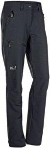 Jack Wolfskin Activate Pants Frauen Gr. 19 - Softshellhose - schwarz