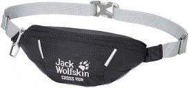 Jack Wolfskin Cross Run Unisex - Hüfttasche - Gr. ONE SIZE - schwarz|grau / black