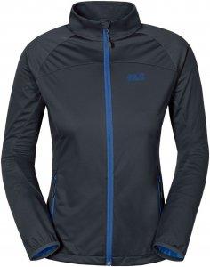 Jack Wolfskin Crosswind Jacket Frauen Gr. XL - Softshelljacke - blau