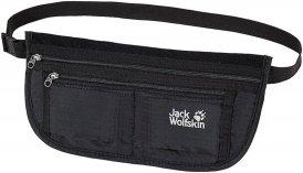 Jack Wolfskin Document Belt De Luxe Unisex - Wertsachenaufbewahrung - schwarz|grau / black
