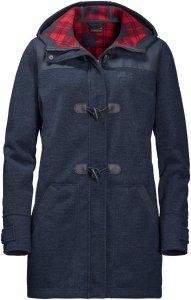 Jack Wolfskin Edmonton Coat Frauen Gr. XS - Fleecejacke - blau