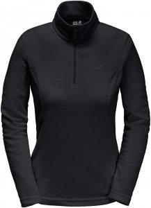 Jack Wolfskin Gecko Frauen Gr. XL - Fleecepullover - schwarz