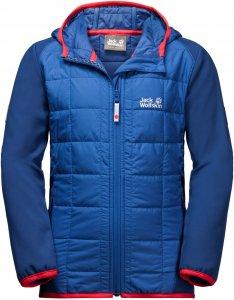 Jack Wolfskin Grassland Hybrid Jacket Kinder Gr. 116 - Softshelljacke - blau