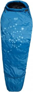 Jack Wolfskin Grow Up Star Kinder - Gr. 160 cm - blau