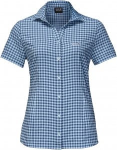 Jack Wolfskin Kepler Shirt Frauen Gr. M - Outdoor Bluse - blau