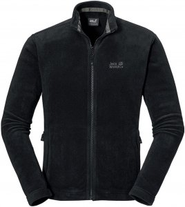 Jack Wolfskin Moonrise Jacket Männer Gr. XXL - Fleecejacke - schwarz
